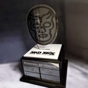 Custom Awards Gallery Mad Mex Trophy - Trophy Land