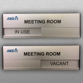 Signage Gallery Meeting Room Sign - Trophy Land