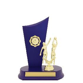 Netball Trophy N0175 - Trophy Land
