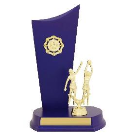 Netball Trophy N0177 - Trophy Land