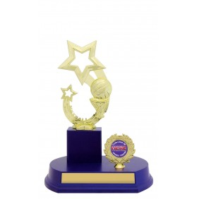 Netball Trophy N0181 - Trophy Land