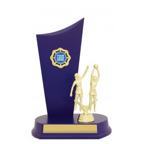 Netball Trophy N1052 - Trophy Land