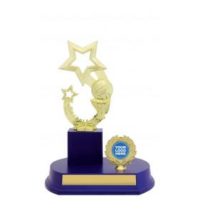 Netball Trophy N1057 - Trophy Land
