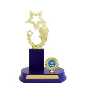Netball Trophy N1058 - Trophy Land