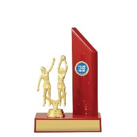 Netball Trophy N1109 - Trophy Land