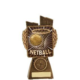 Netball Trophy N7004 - Trophy Land