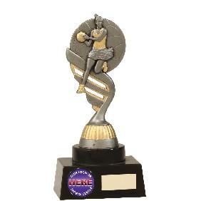 Netball Trophy N7018 - Trophy Land