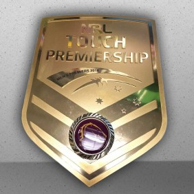 Custom Awards Gallery NRL Touch Shield - Trophy Land