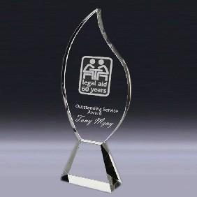 Crystal Award OC-FL32 - Trophy Land