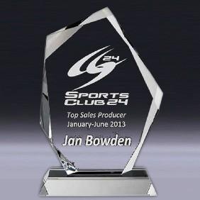 Crystal Award OC-IP27 - Trophy Land