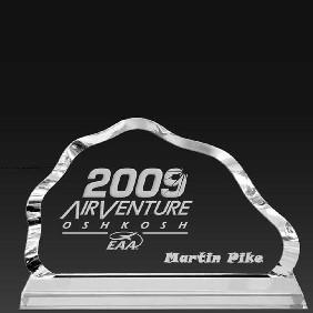 Crystal Award OC-M17 - Trophy Land