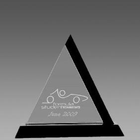 Crystal Award OC-PTR19 - Trophy Land