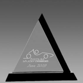 Crystal Award OC-PTR22 - Trophy Land