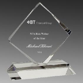 Crystal Award OC-SQ20 - Trophy Land