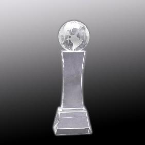 Crystal Award OC-WGT22 - Trophy Land