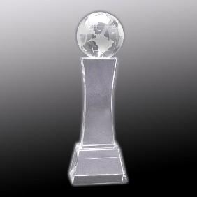 Crystal Award OC-WGT30 - Trophy Land
