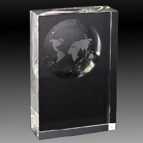 Crystal Award OC-WM20 - Trophy Land