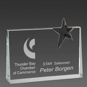 Crystal Award OCC-TSW20 - Trophy Land