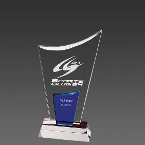 Crystal Award OCQ-DV1 - Trophy Land