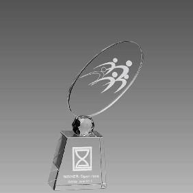 Crystal Award OCQ-RF1 - Trophy Land