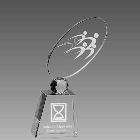 Crystal Award OCQ-RF2 - Trophy Land