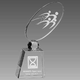Crystal Award OCQ-RF3 - Trophy Land