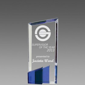 Crystal Award OCQ-T1BL - Trophy Land