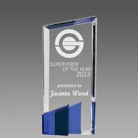 Crystal Award OCQ-T2BL - Trophy Land
