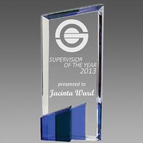 Crystal Award OCQ-T3BL - Trophy Land