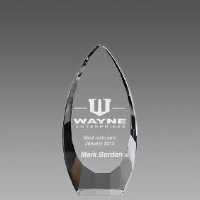 Crystal Award OCQ-VA16 - Trophy Land