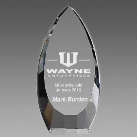 Crystal Award OCQ-VA20 - Trophy Land