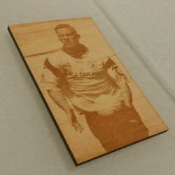 Photo Engraving on Wood