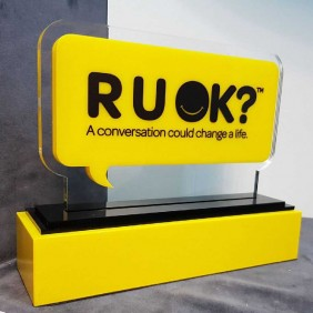 Custom Awards Gallery RUOK Trophy - Trophy Land
