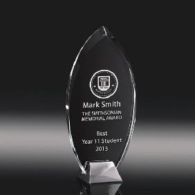 Glass Award SI01B - Trophy Land