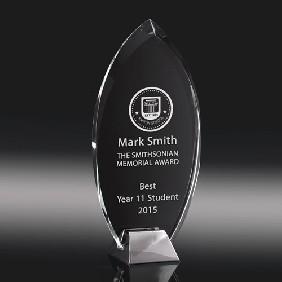 Glass Award SI01C - Trophy Land