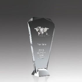 Glass Award SI02A - Trophy Land