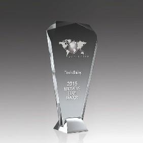 Glass Award SI02B - Trophy Land