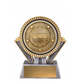 Netball Trophy SR137A - Trophy Land