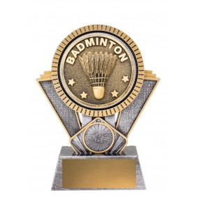 Badminton Trophy SR146B - Trophy Land