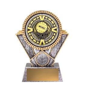 Netball Trophy SV211B - Trophy Land