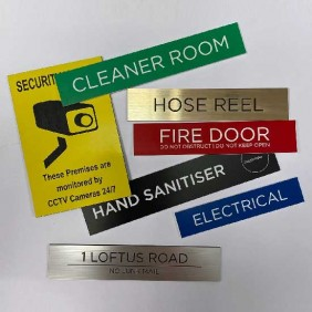 Custom Info Signage Signs - Custom - Trophy Land