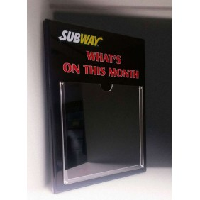 Signage Gallery Subway Monthly Plaque - Trophy Land