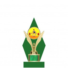 Bodybuilding Trophy TL006-008 - Trophy Land