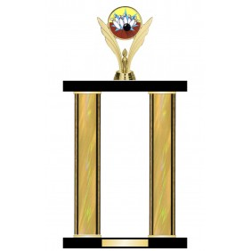 Ten Pin Bowling Trophy TL044-007 - Trophy Land