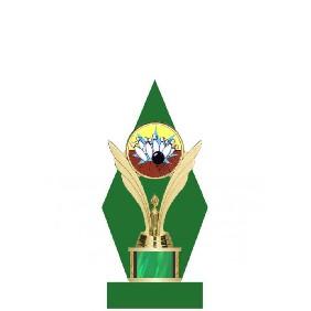 Ten Pin Bowling Trophy TL044-008 - Trophy Land