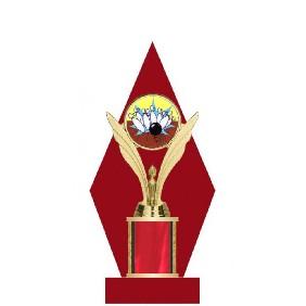 Ten Pin Bowling Trophy TL044-009 - Trophy Land