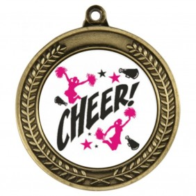 Cheerleading Medal TLM-1049G-C121 - Trophy Land