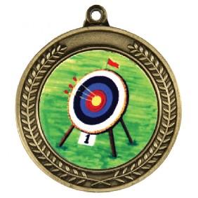 Archery Medal TLM-1049G-K9 - Trophy Land