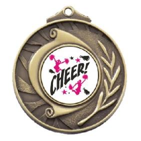 Cheerleading Medal TLM-M101G-C121 - Trophy Land