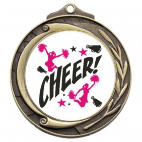 Cheerleading Medal TLM-M102G-C121 - Trophy Land